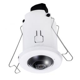 VIVOTEK FE8182 Recessed Mount 5MP 360° Fisheye IP Camera