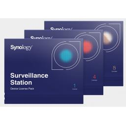 Synology Camera License Pack. 1, 4 or 8 Licenses per pack