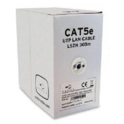 Vista CAT5E White Internal Cable. LSZH sheath for non-toxic fumes in-case of fire.