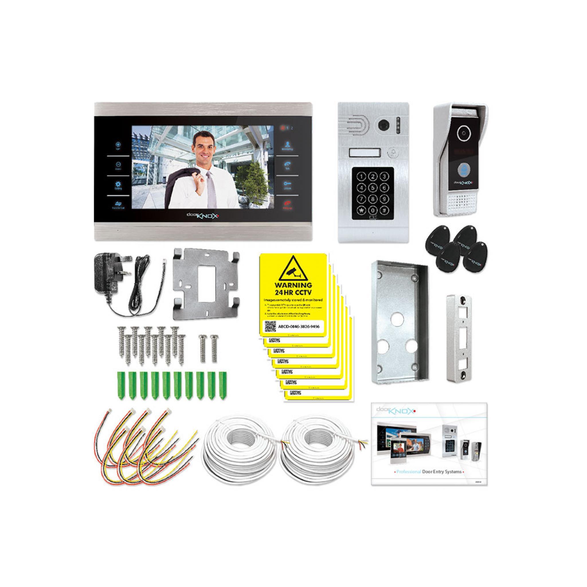 Door Knox 2 Camera Secure Access Video Door Entry Kit