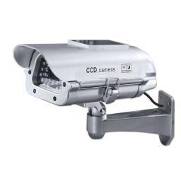 Decoy CCTV camera with IR LEDs and Solar Panel