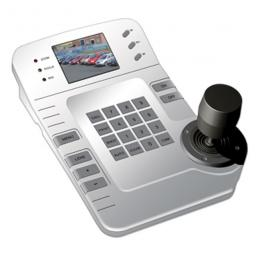 "System Q Stylish 3D Keyboard Controller with 2.5"" Colour LCD"