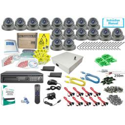 System Q KIT016HD AlienMax HD-SDI Kit with 16 HD-SDI Eyeball Cameras