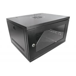 "System Q 6U 19"" Lockable Wall or Desk Mount CCTV Cabinet"