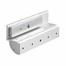 CLS EM300AZLG Z and L Bracket Set with a Cover for Slimline Maglocks on Inward Opening Doors