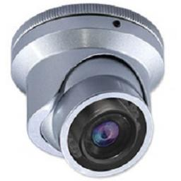 System Q CAM110S GEM Anti-Vandal MiniROK External Dome CCTV Camera Silver (Open Box) PSU included