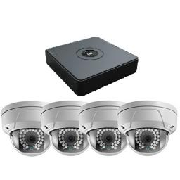 HIkVision HiWatch 1080P 4 Camera IP CCTV System with a 1TB HDD